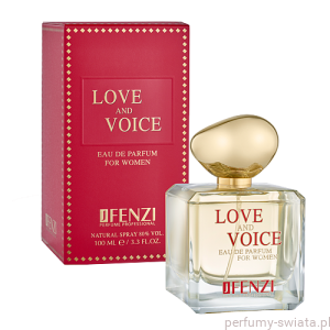 Love and Voice edp 100ml  Fenzi perfumy